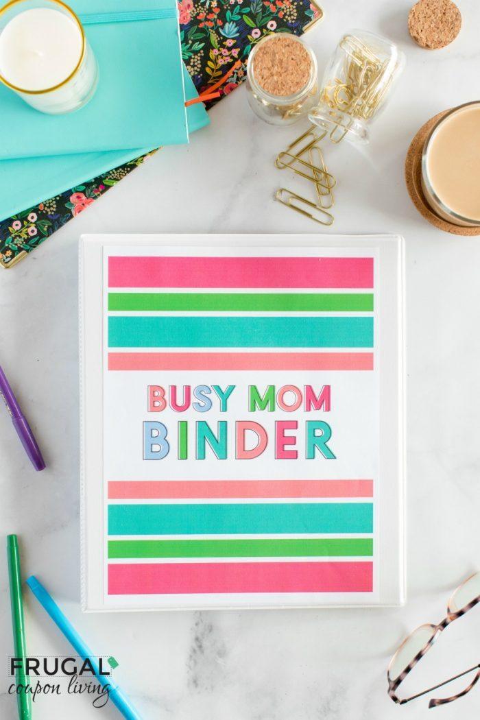 Busy Mom Binder