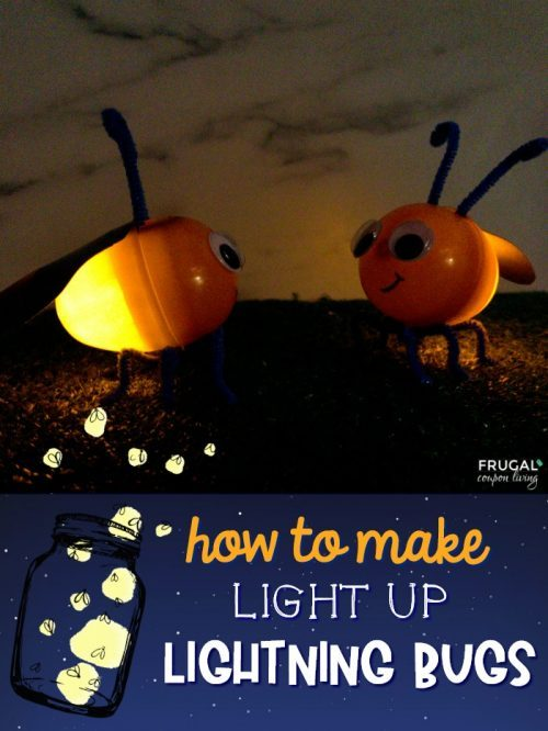 Homemade Lightning Bugs