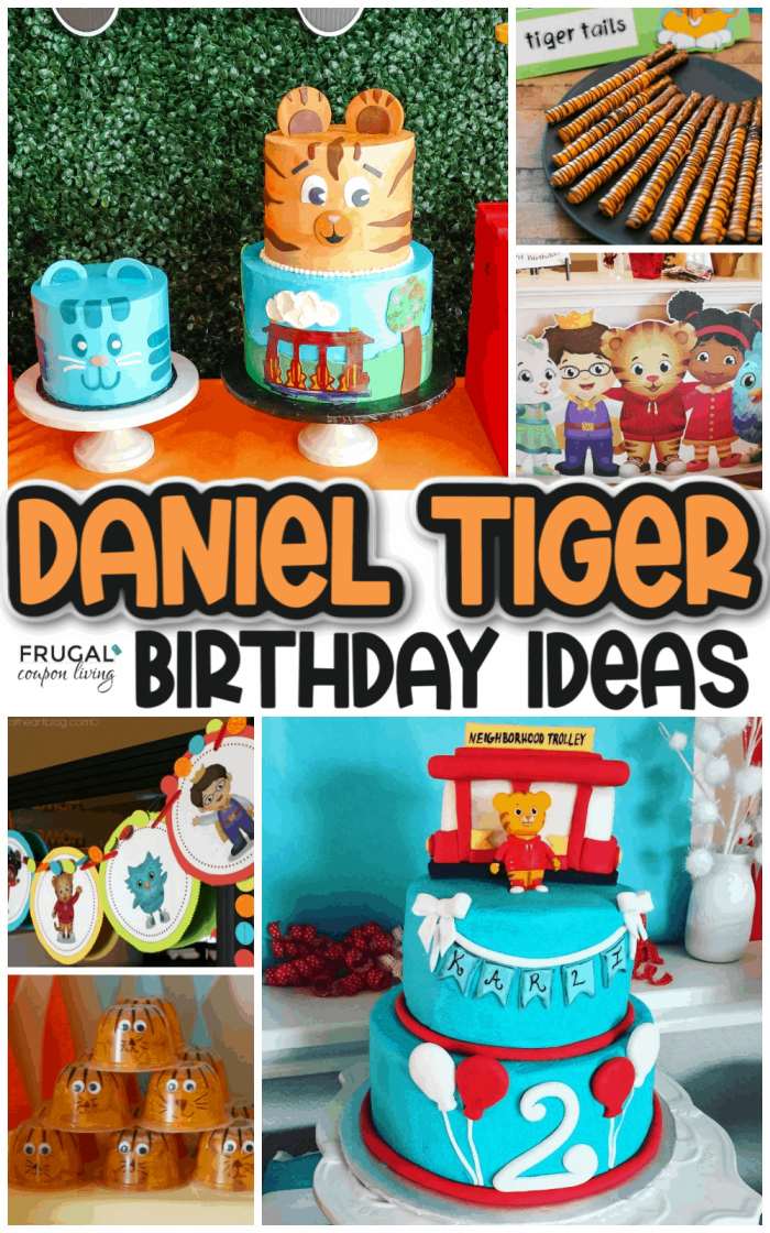 Daniel Tiger Party Ideas