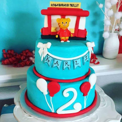 Daniel Tiger Birthday Cake Ideas
