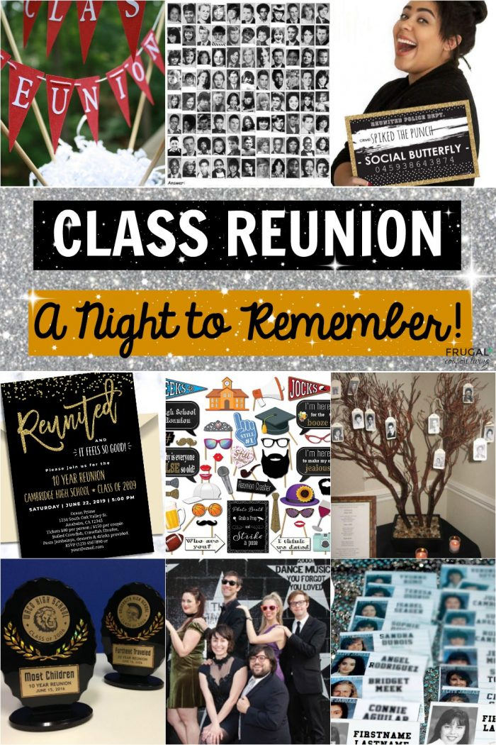 Class Reunion Planning, Ideas, Decor, and Themes