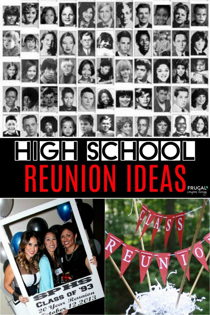 High School Reunion Ideas, Decor, and Themes
