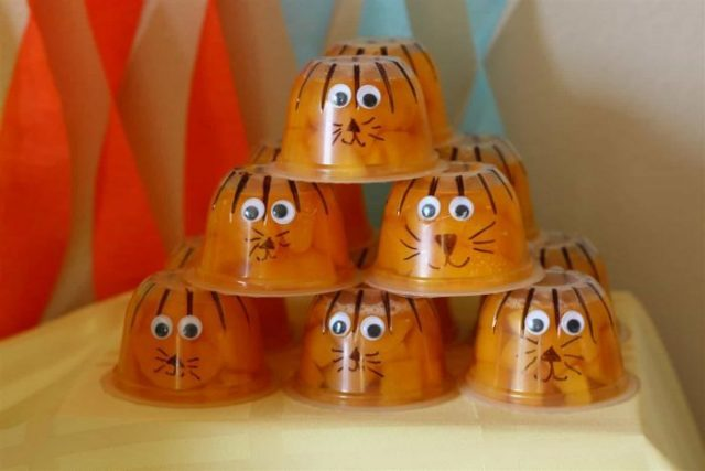 Kids Fruit Cups Tiger