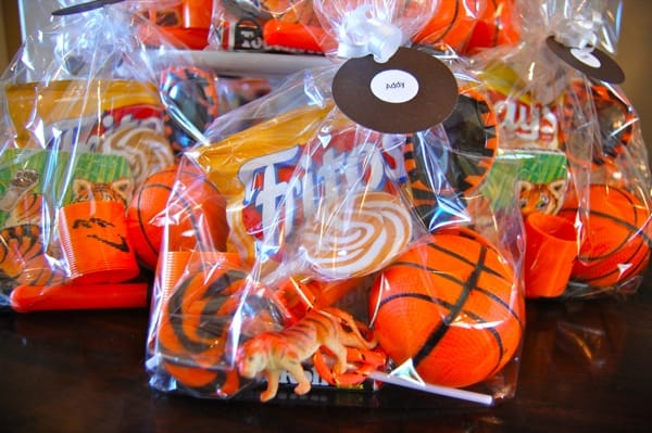 Tiger Birthday Party Favor