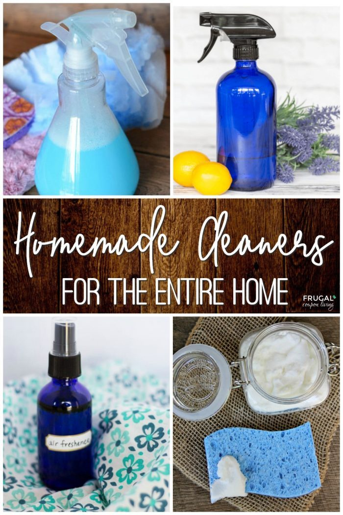 Homemade Cleaners for the Entire Home