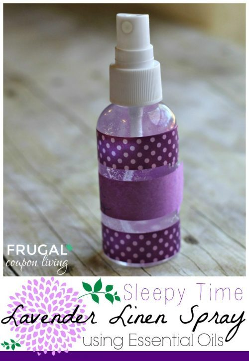 lavender homemade linen spray