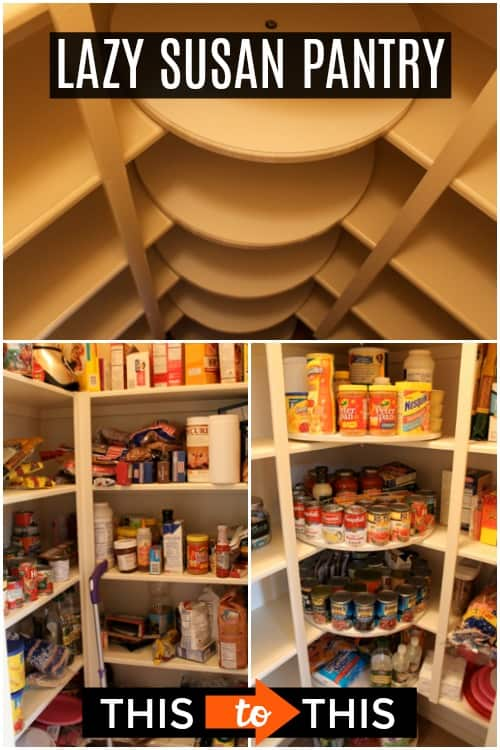 Pantry Lazy Susan Ideas