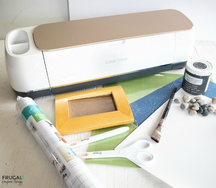 Fathers Day Photo Frame Gift & Craft Supplies for Cricut Design Space