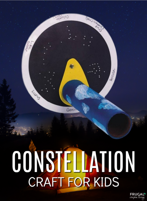 Constellation Camping Crafts for Kids
