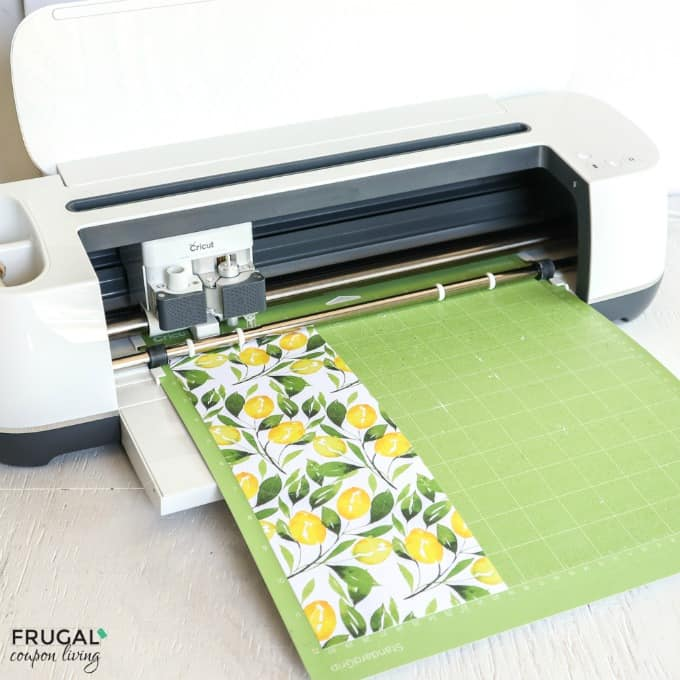 Adhesive Lemon Cardstock for Cricut Design Space