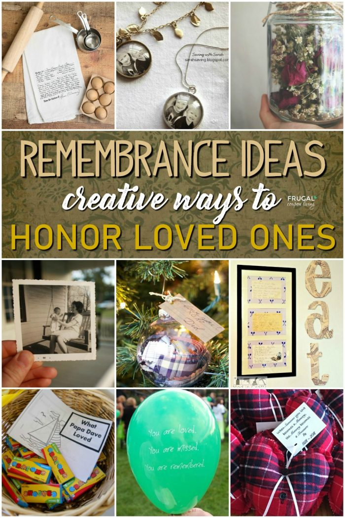 Memorial Crafts for Loved Ones