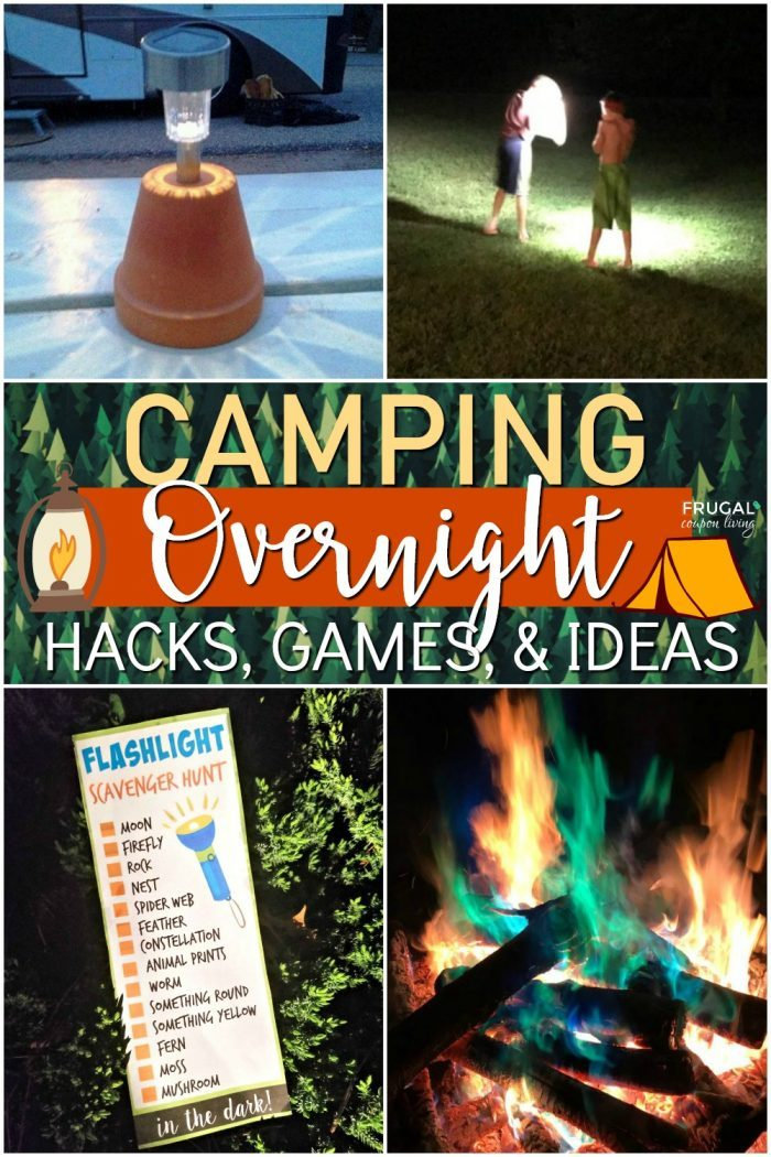 Overnight Camping at Night Hacks