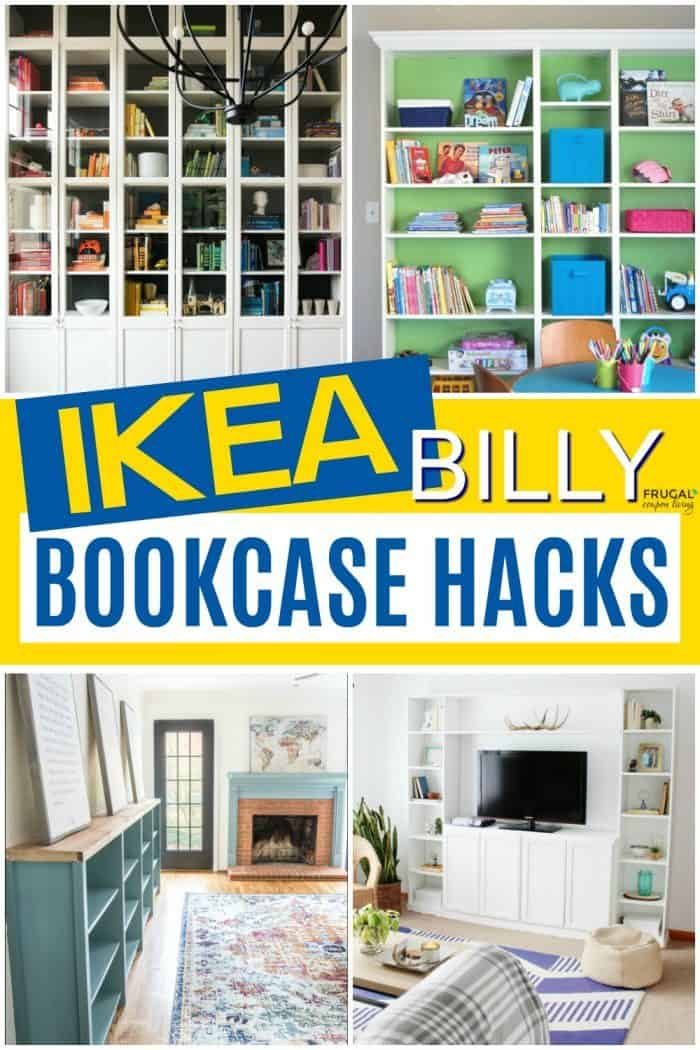 IKEA BILLY Bookcase Hacks