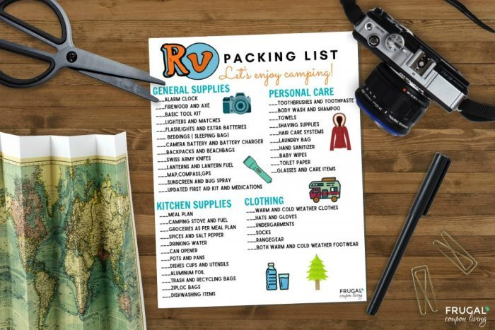 What to Pack RV Camping