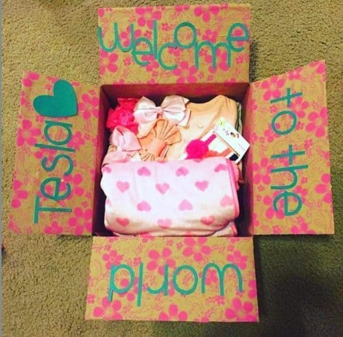 Newborn New Mama Care Package Idea