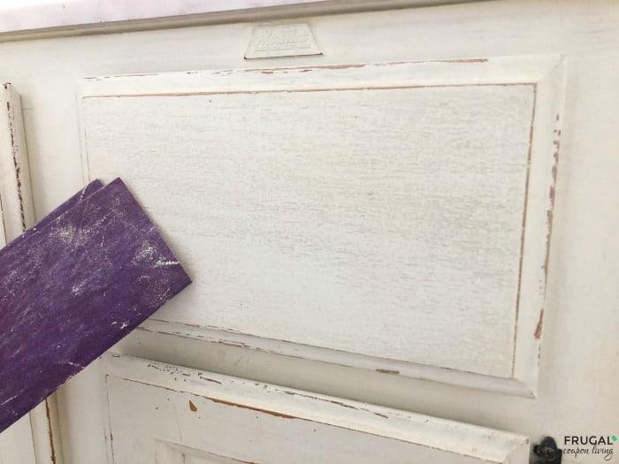 Bathroom Vanity and Sand Paper