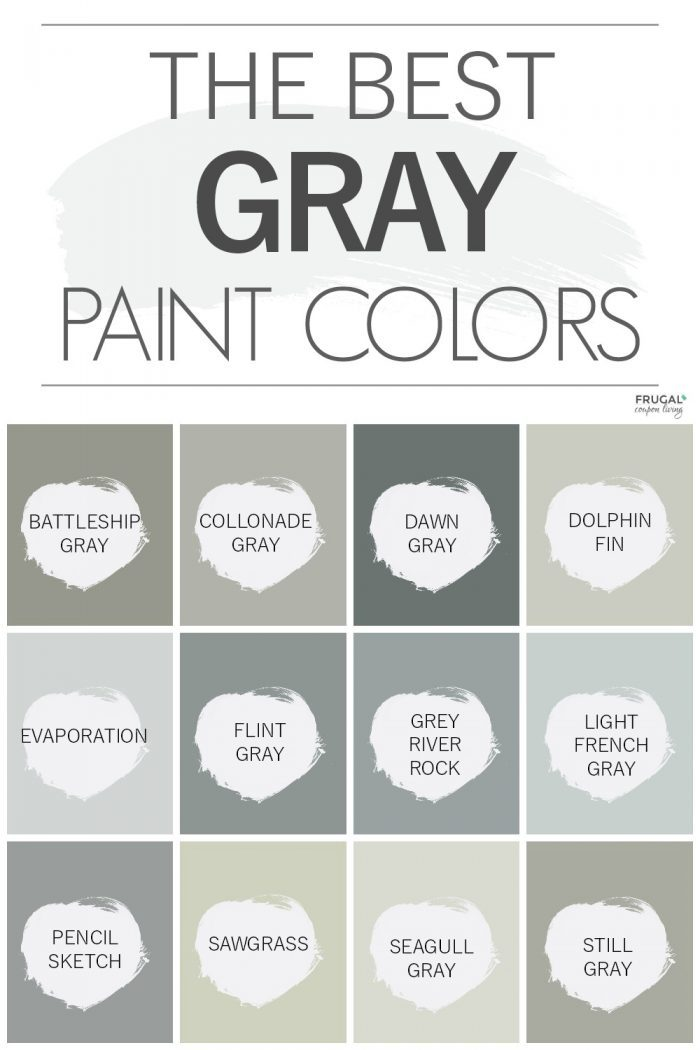 The Best Gray Paints from Behr