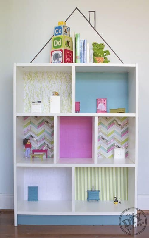 IKEA Billy Bookcase Hack Dollhouse