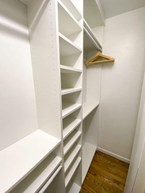 IKEA Billy Bookcase Hack Closet