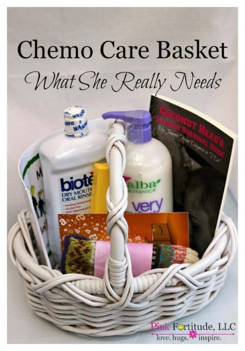 Chemo Gift Idea - care package for cancer patient