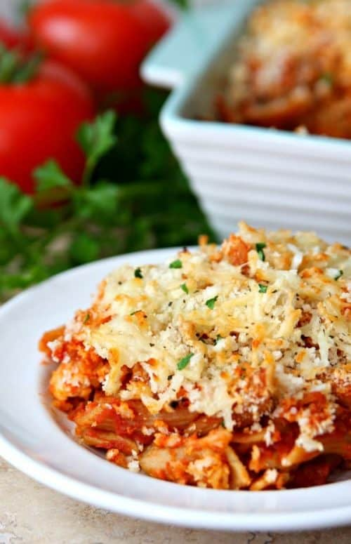Easy Chicken Parmesan Casserole Recipe
