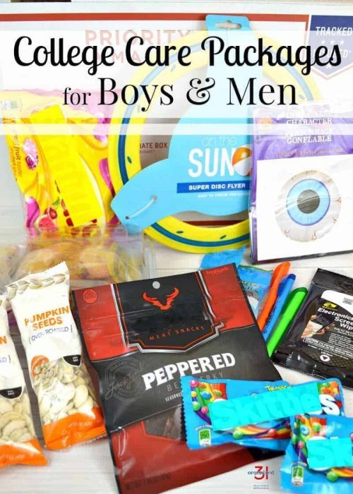College care package for boys