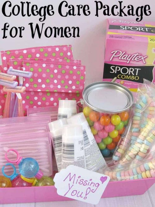college care package for girls