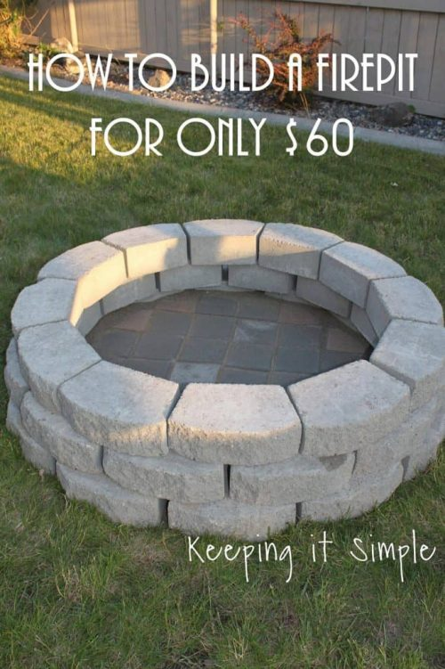 How to Build a DIY Fire Pit on a Budget
