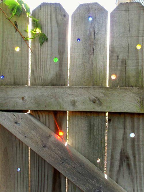 Backyard Hack - How to Install Marbles in a Fence