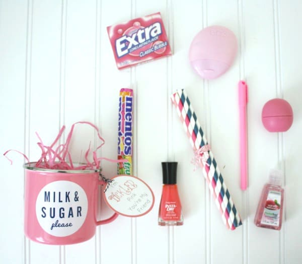Tickled Pink care package