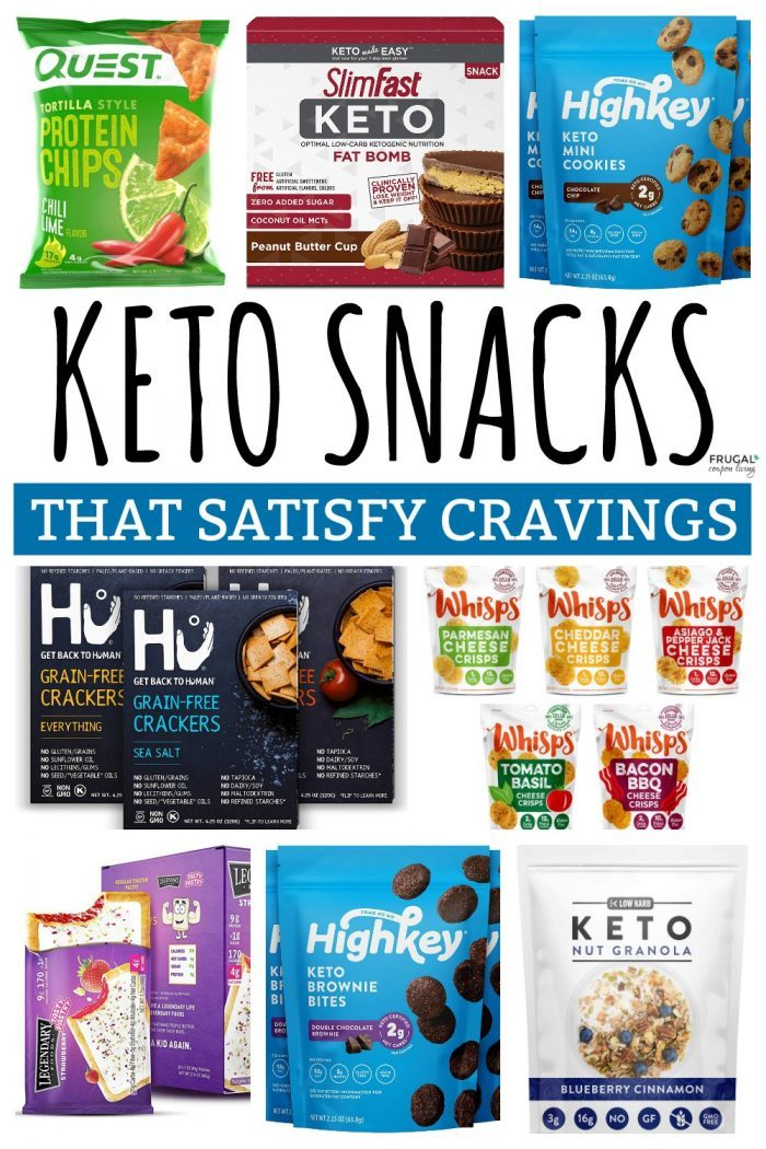 Keto Snacks to Buy on Amazon that Satisfy Cravings
