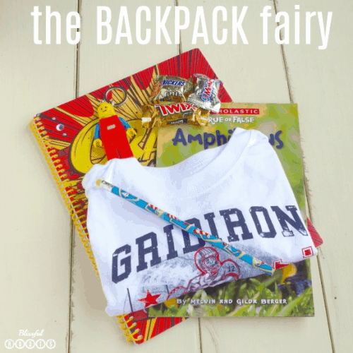 Back to School Backpack Fairy