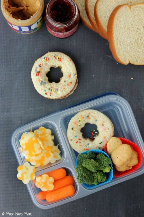 First Day of School Bento Lunch Box