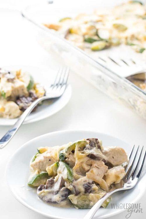 Healthy Chicken Recipe Zucchini Fall Casserole