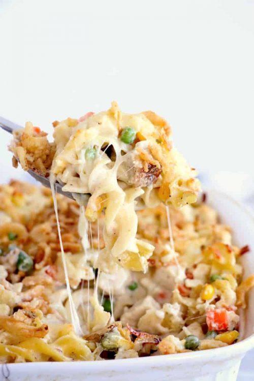 Easy Turkey Casserole | Fall Dinner Recipe