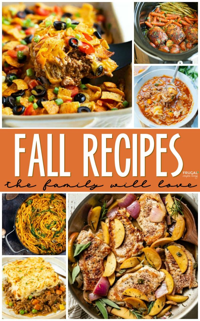 Comforting Fall Dinner Recipes for Families