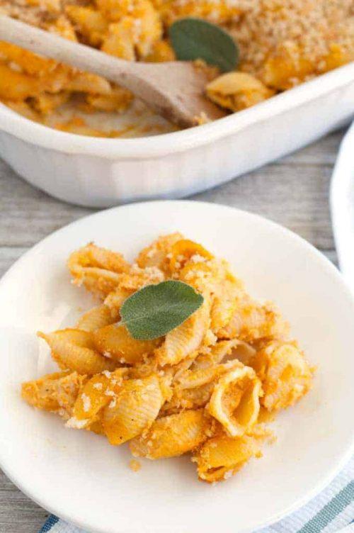 Pumpkin Macaroni Fall Dinner Recipe Ideas