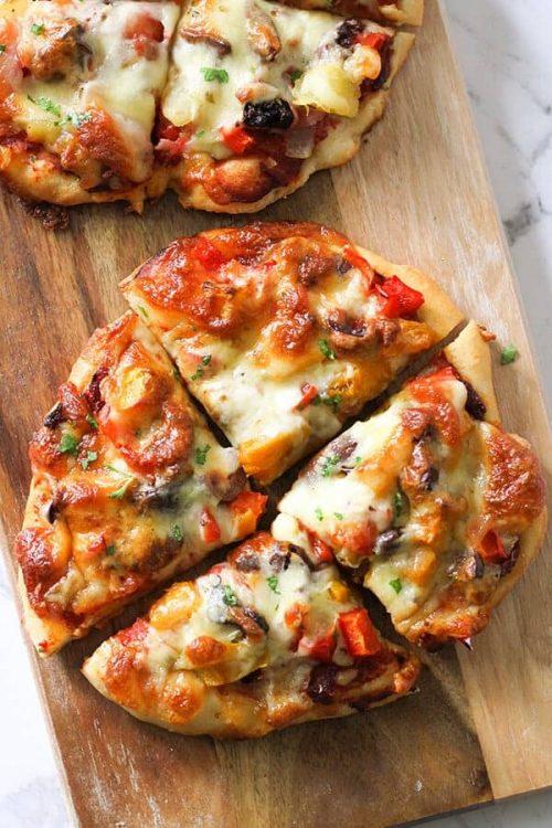 Roast Pumpkin Pizza for a Fall Recipe