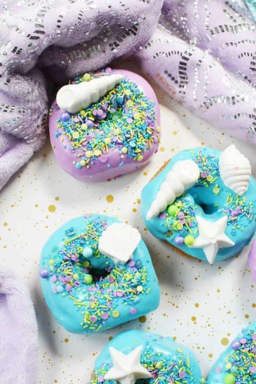 mermaid donuts party food