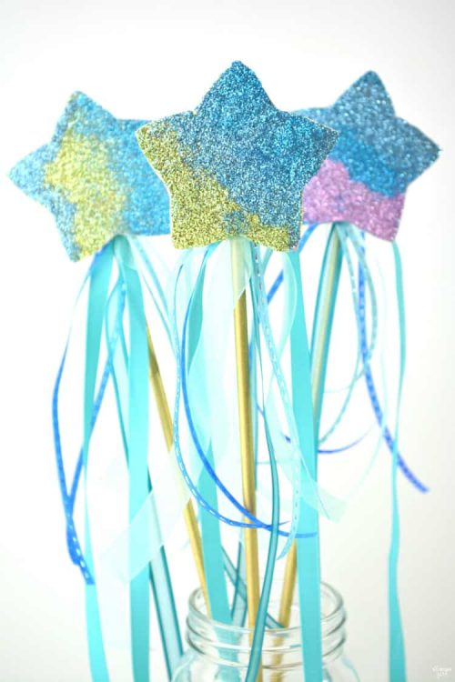 mermaid wands