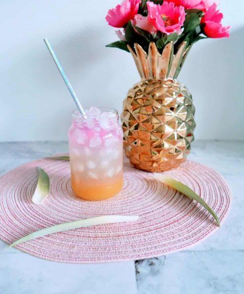 mermaid party mocktail drink